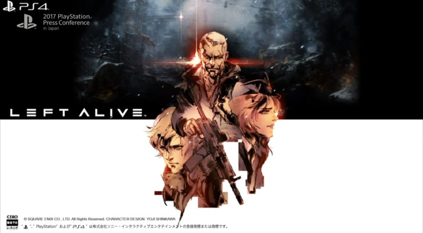 مخرج Armored Core ومصمم شخصيات Metal Gear Solid ينضموا إلى Square Enix و يعلنوا عن Left Alive