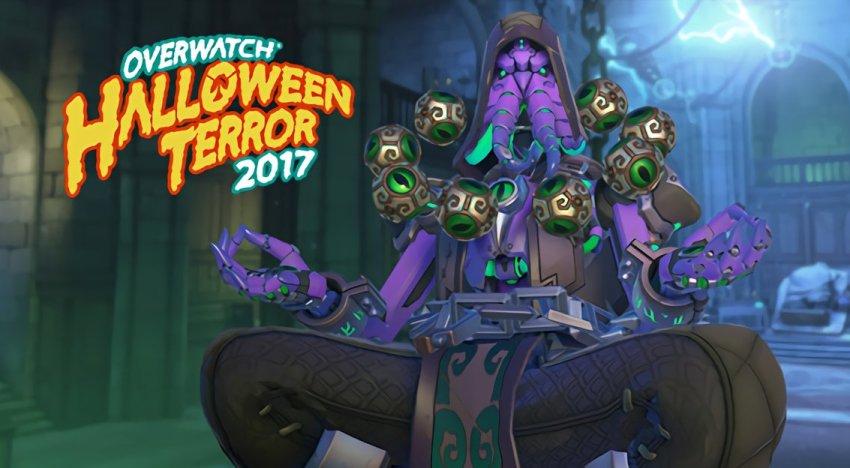 تسريب عن طريق الخطأ للـSkins الجديدة للعبة Overwatch الخاصة بـHalloween Terror Event.