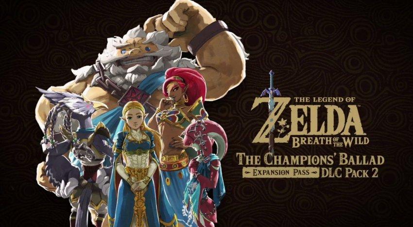 الكشف عن اضافة The Legend of Zelda: Breath of the Wild الثانية خلال حفل The Game Awards 2017