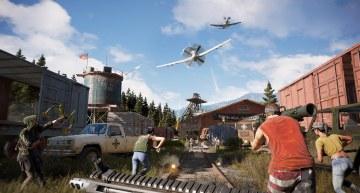 فيديو جديد لاعضاء المقاومة و الحيوانات و كم الاكشن الضخم في لعبة Far Cry 5