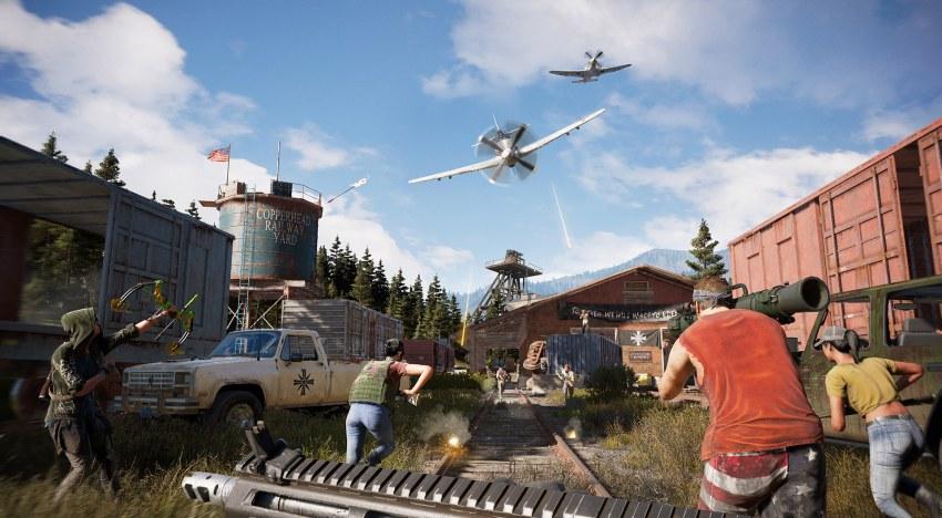 لعبة Far Cry 5 يمكن انهاء قصتها في خلال 25 ساعة