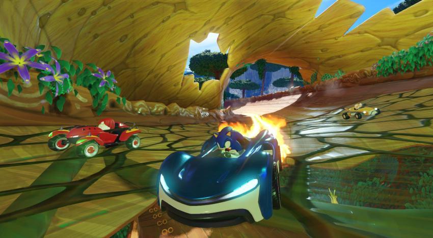 الإعلان بشكل رسمي عن لعبة Team Sonic Racing