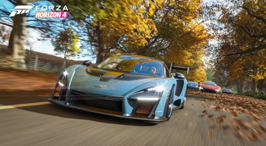 الاعلان عن Forza Horizon 4 خلال مؤتمر Microsoft الخاص بـ معرض E3 2018