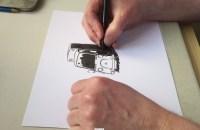 Video – jeg tegner lige en bil…