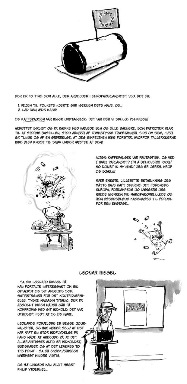 tegnet dagbog masterclass danske bladtegnere skræntskov