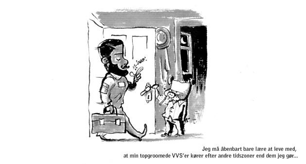 Comic webcomic tegneserie web vvs skræntskov