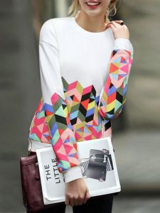 geometric-print-sweater-winter-outfits-2016-trends