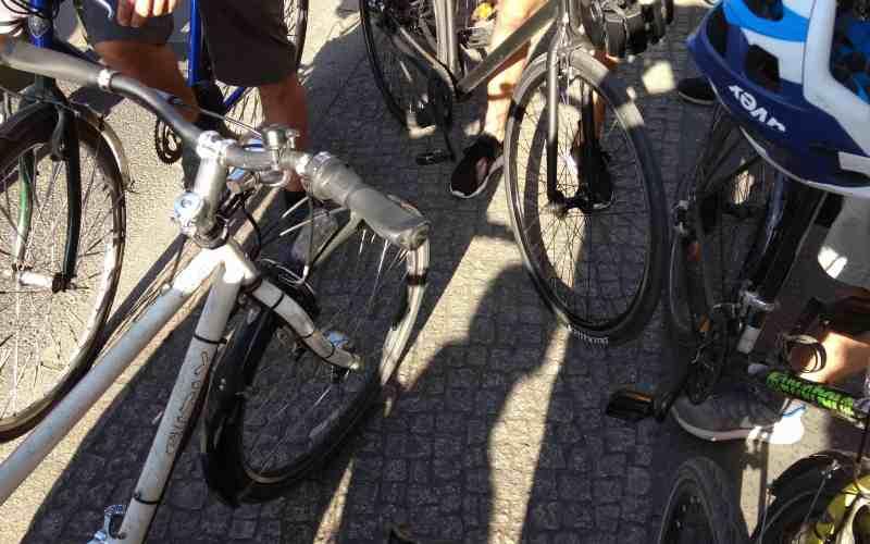 Fahrraddemo Mai