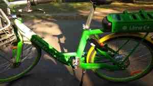 Lime E-bike