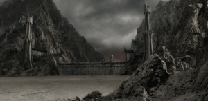 Black gate of Mordor