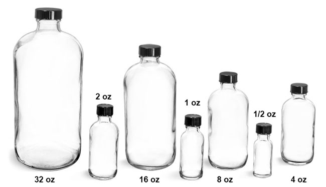 Forensic Science: Forensic Science Glass Lab Bottles