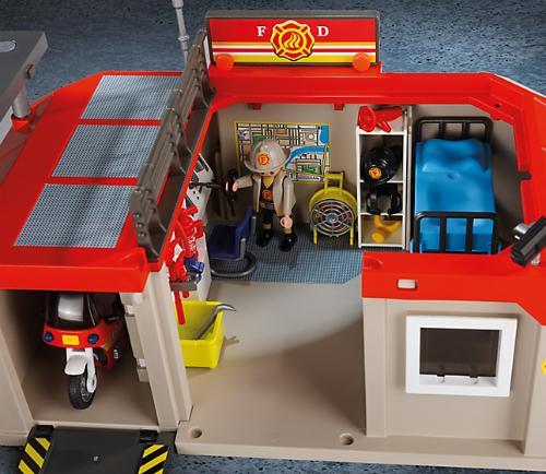 Playmobil Take Along Fire Station  Smart Kids Toys