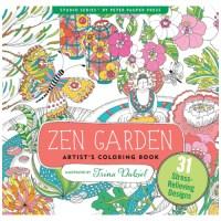 Zen Garden Adult Coloring Book - Smart Kids Toys