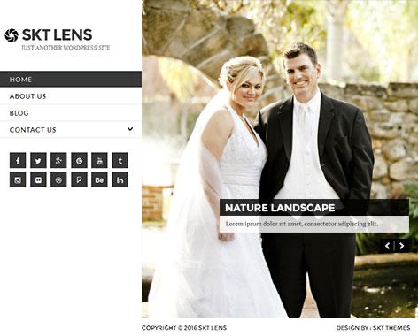 Lens pro WordPress theme