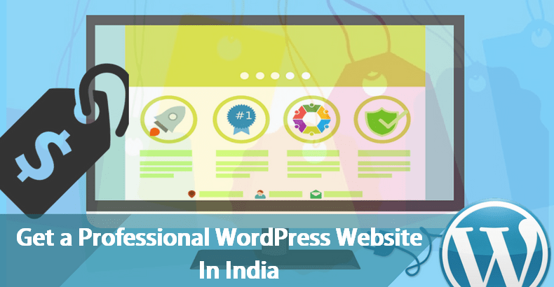 Get Professional WordPress Website in India