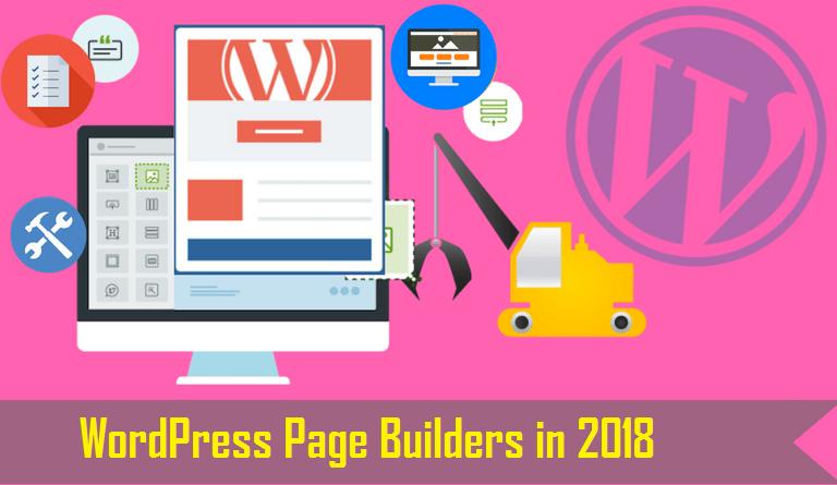 WordPress Page Builders in 2018