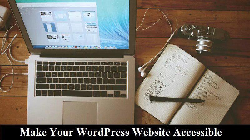 Make accessible website