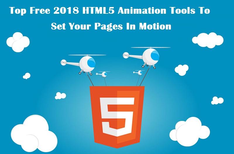 HTML5 animation tools