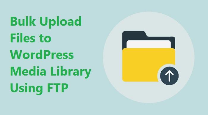 upload files to WordPress Media Library