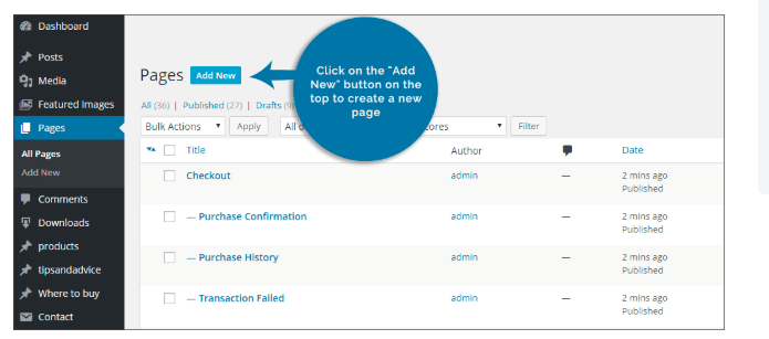 Digital Downloads of Customer Invoices