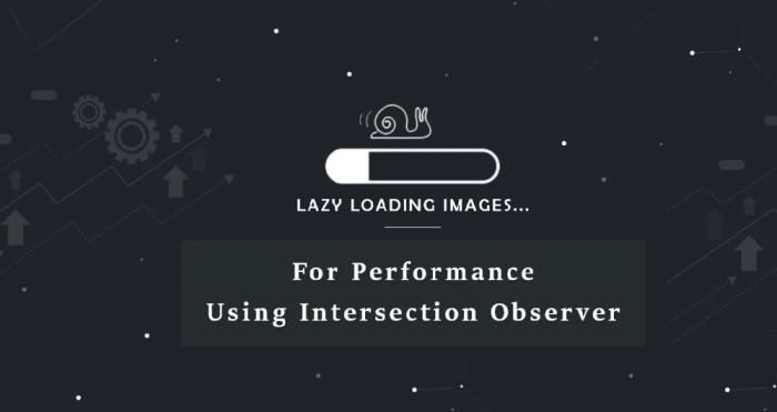Lazy Loading for Websites