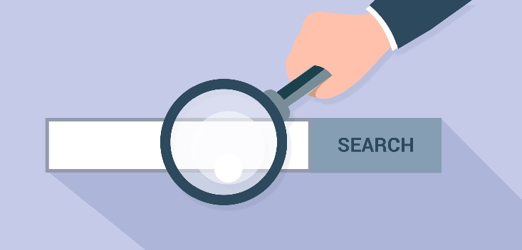 designing a website search