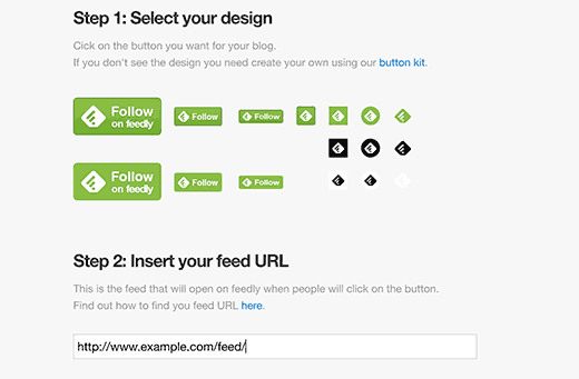 add follow button