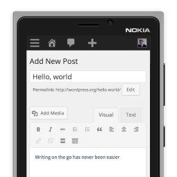 WordPress admin panel now responsive