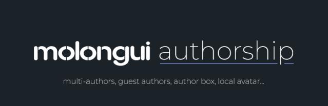 Molongui Authorship