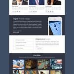 the app WordPress theme