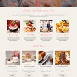 free responsive bakery WordPress theme