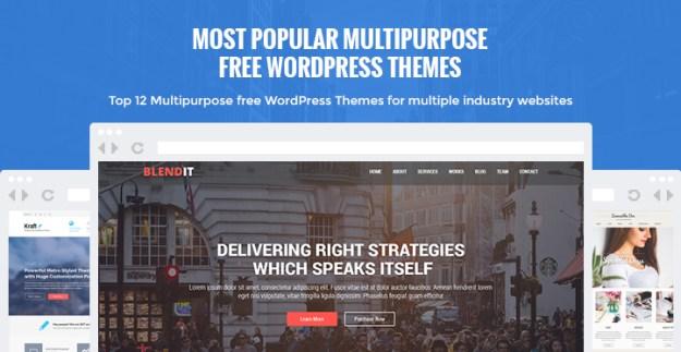 multipurpose free WordPress themes