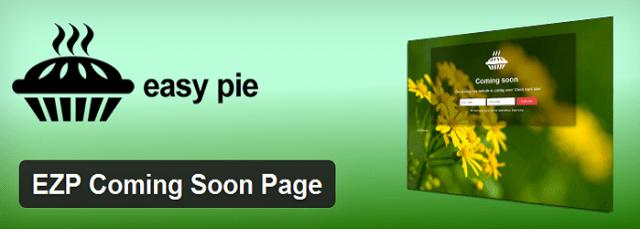 EZP Coming Soon Page WordPress