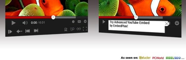 YouTube Advanced Embed plugin