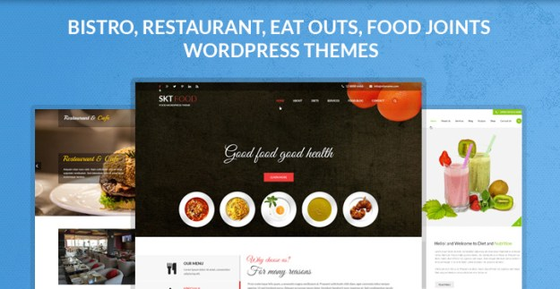 bistro restaurant eat outs food WordPress theme