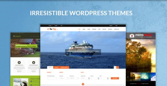 irresistible WordPress themes