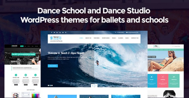 Dance Studio WordPress Themes