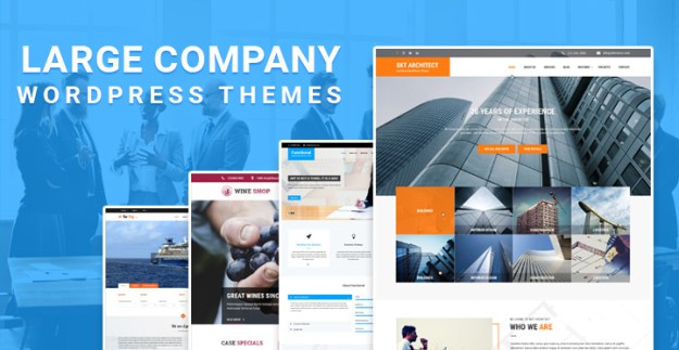 large Company WordPress themes