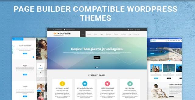 page builder WordPress themes