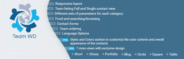 staff team WordPress plugin
