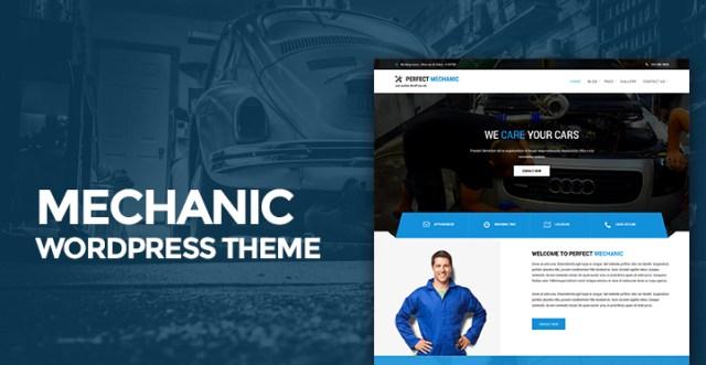 mechanic WordPress theme