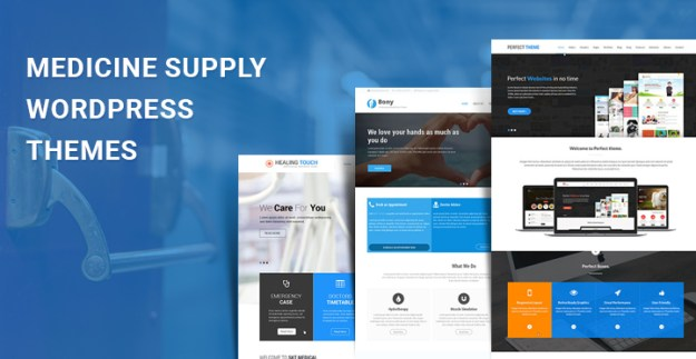 medicine supply WordPress themes