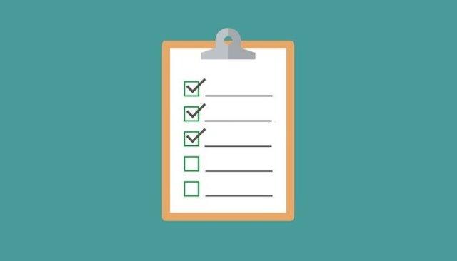 web host checklist