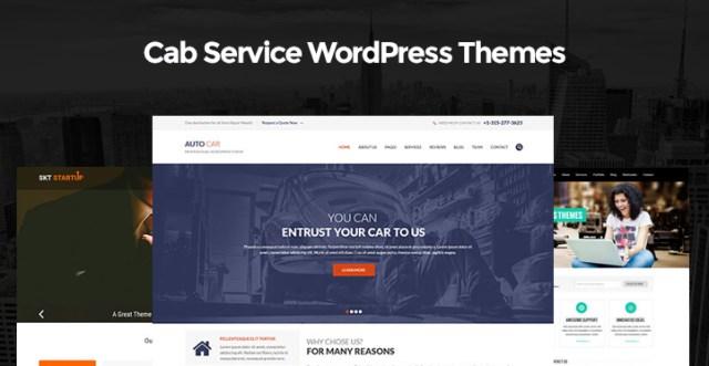 Best Cab Service WordPress Themes