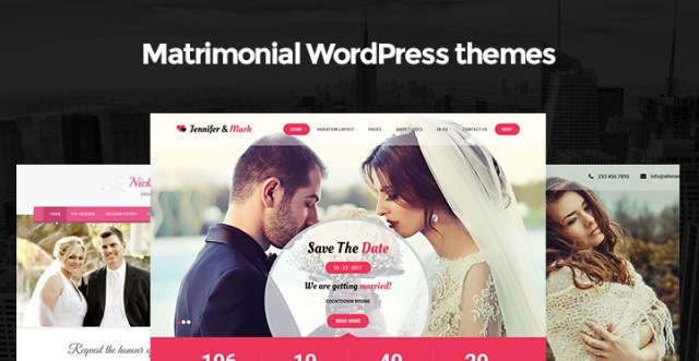 matrimonial WordPress themes