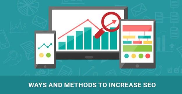 ways methods to increase SEO WP site