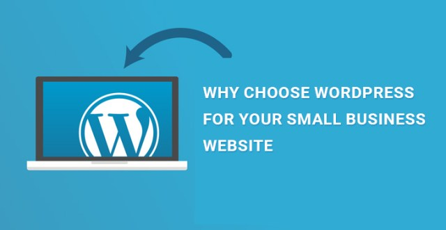 choose WordPress for small business website