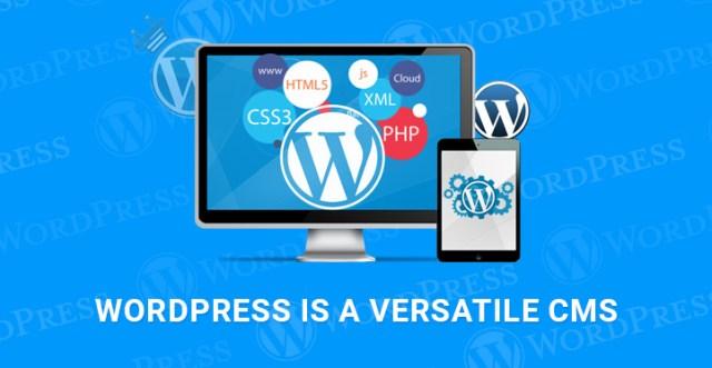 WordPress versatile CMS