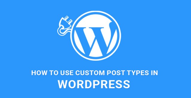 custom post types WordPress