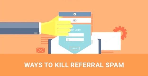 block referral spam WordPress